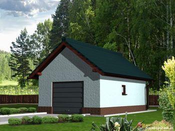 Garaże Projekty Budowlane Wykonawcze Projektygotowepl